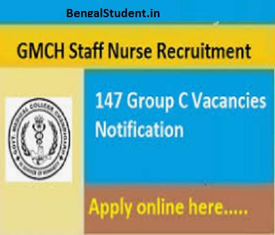 GMCH Recruitment 2018