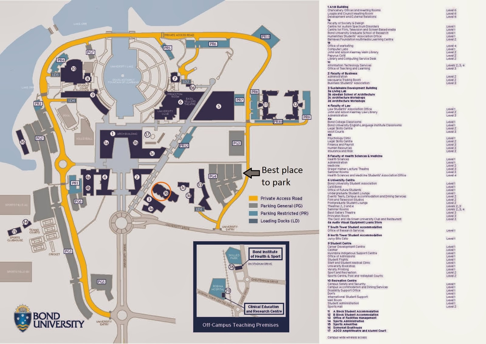 myfriendstoldmeaboutyou - Guide bond university college map->