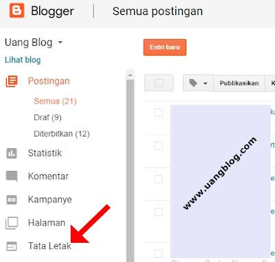 cara menghapus nama penulis blog di blogger