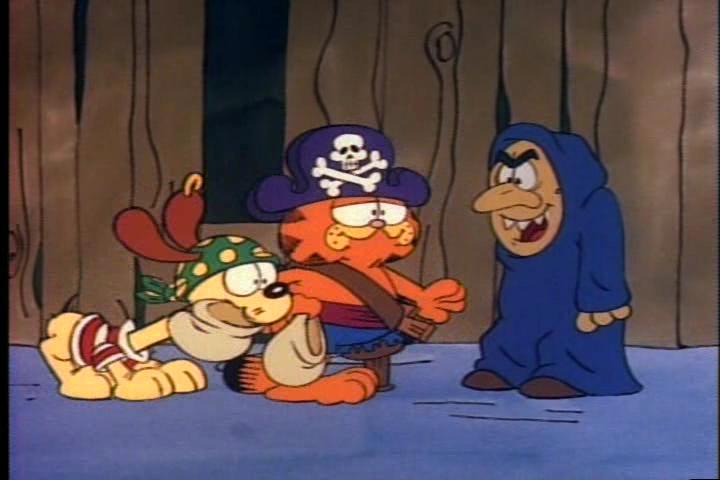 A Pop Culture Addict In Rehab Garfield S Halloween Adventure