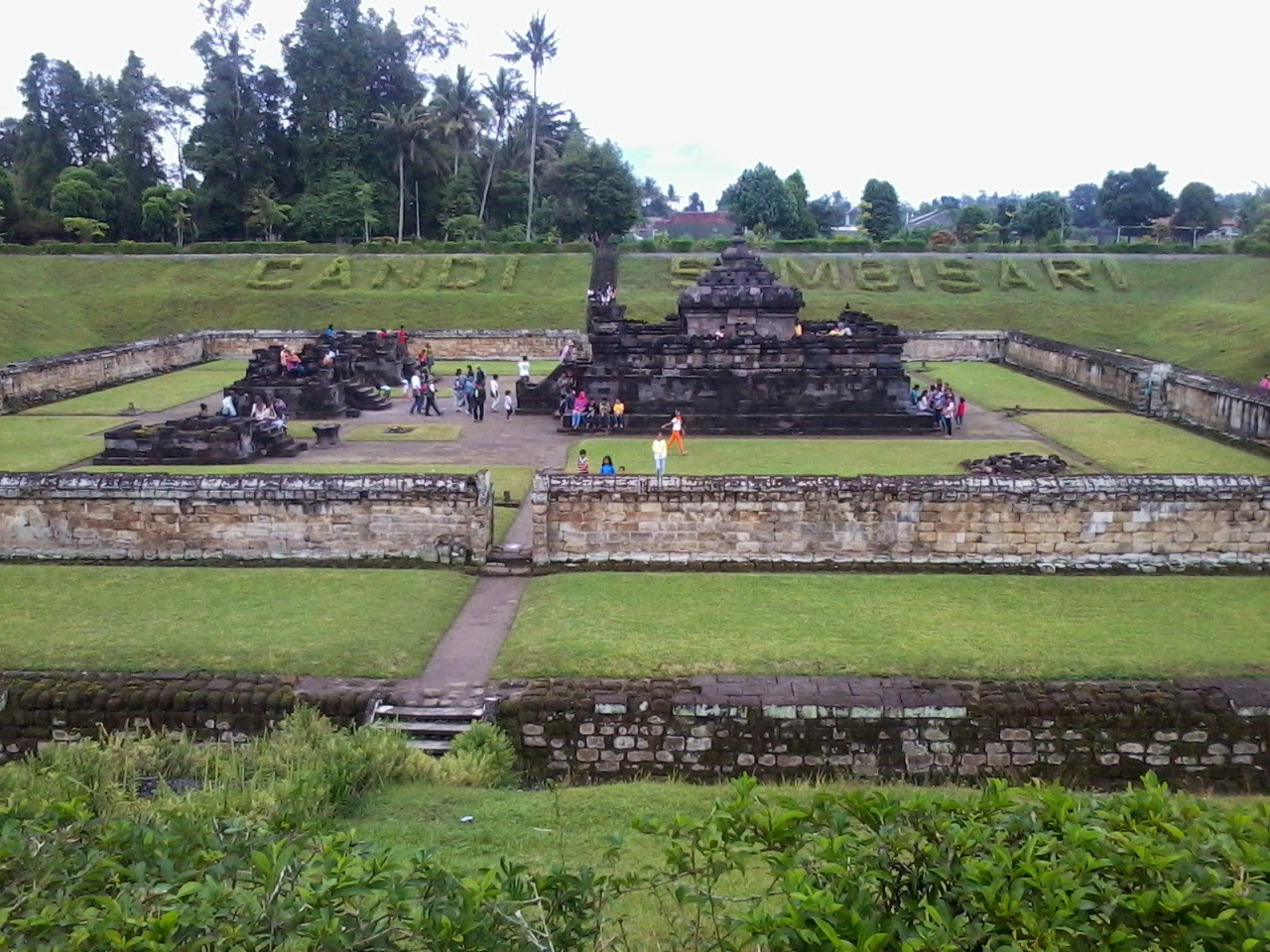 Sambisari Temple at Jogjakarta