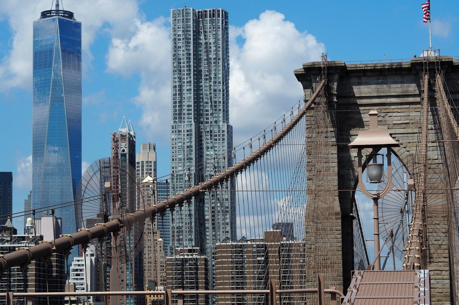 The Manhattan bridge view from Dumbo
