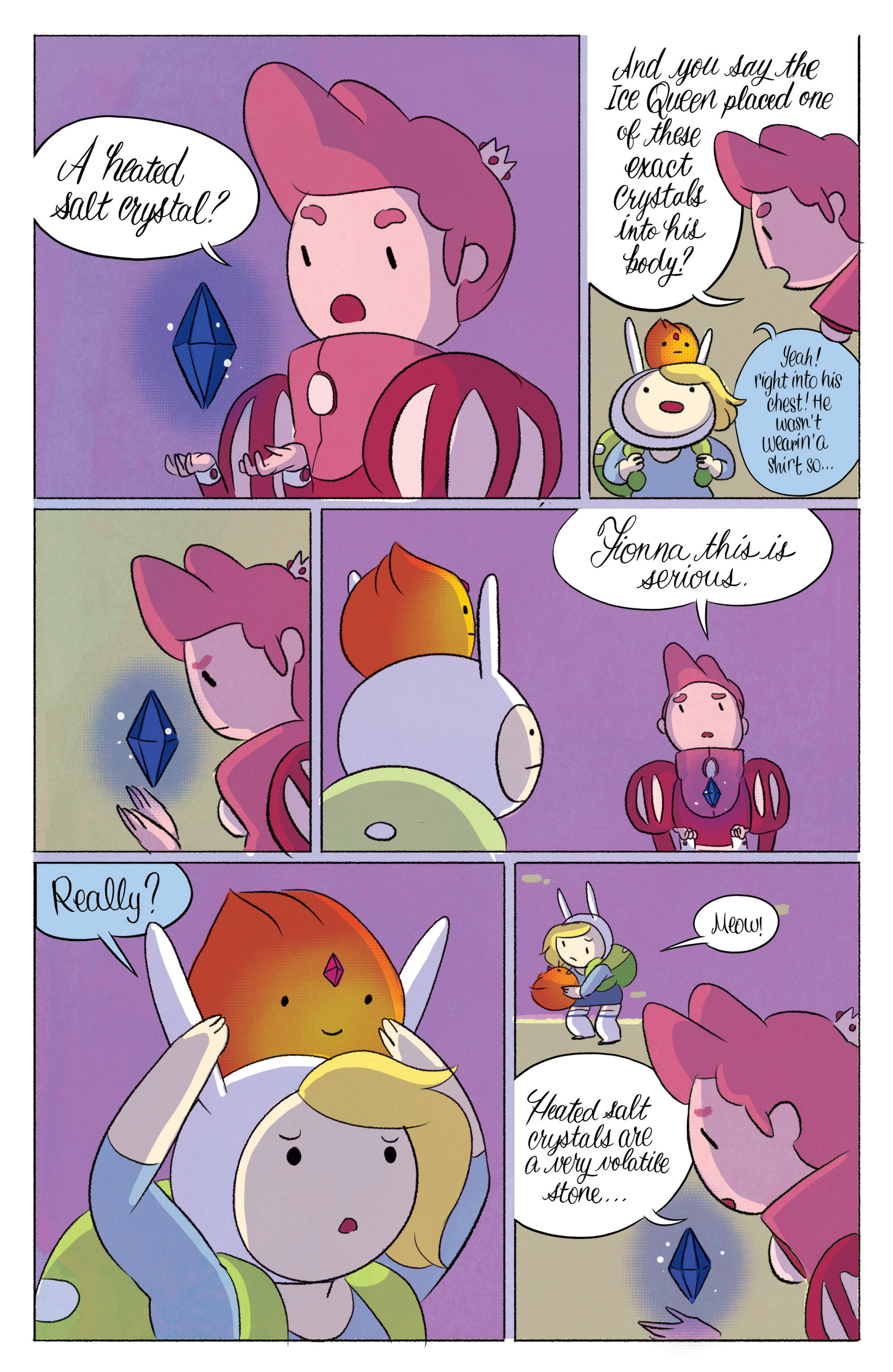 Read online Adventure Time with Fionna & Cake comic -  Issue #4 - 8