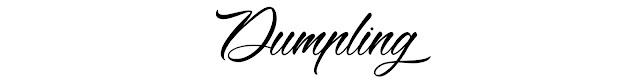 dumpling-police-dafont