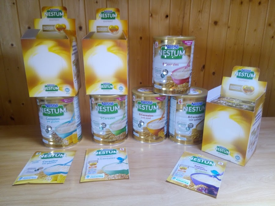 Nuevo formato lata cereales Nestle Nestum Expert