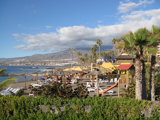 Playa de las Americas, one of the best beaches in Tenerife