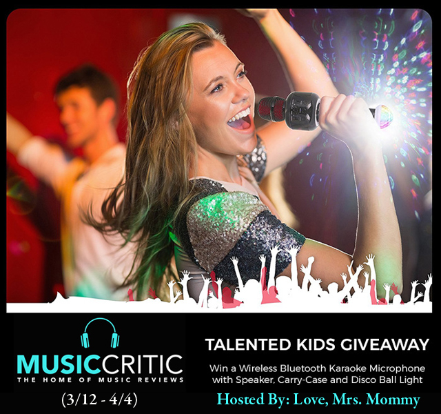 karaoke microphone & disco ball giveaway