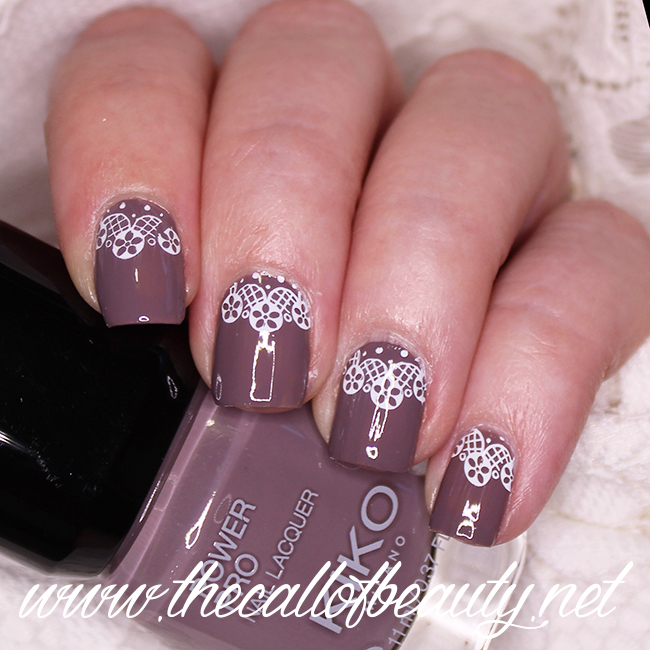 Lace Moon Manicure