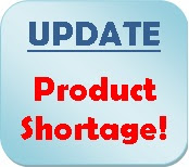 update product shortage