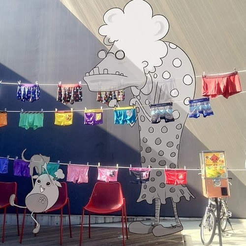 10-Hanging-out-the-Laundry-Tokyo-Japan-Cheryl-H-The-Dreaming-Clouds-Drawings-www-designstack-co
