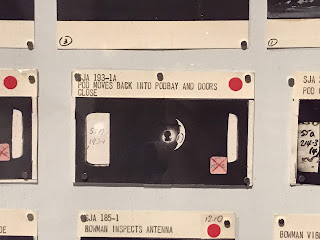 Original story boards from 2001: A Space Odyssey