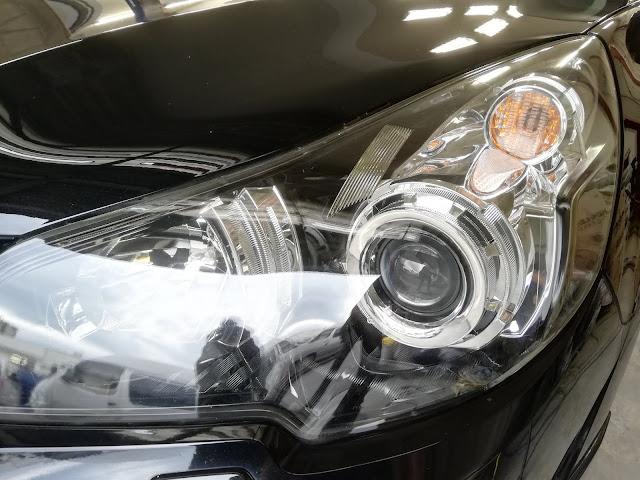スバル/レガシィワゴン  ヘッドライトの劣化+くすみ復元リペア