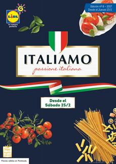 "Catálogo Lidl ""Italiamo: passione italiana"""