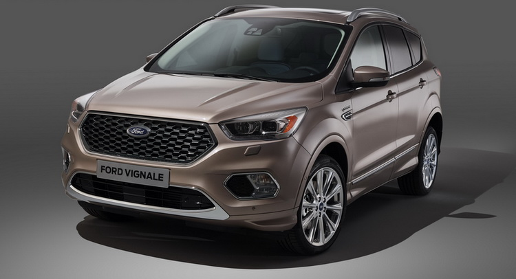 ford reveals upscale kuga vignale in production form. Black Bedroom Furniture Sets. Home Design Ideas