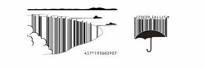Diseñando códigos de barras de una manera creativa.