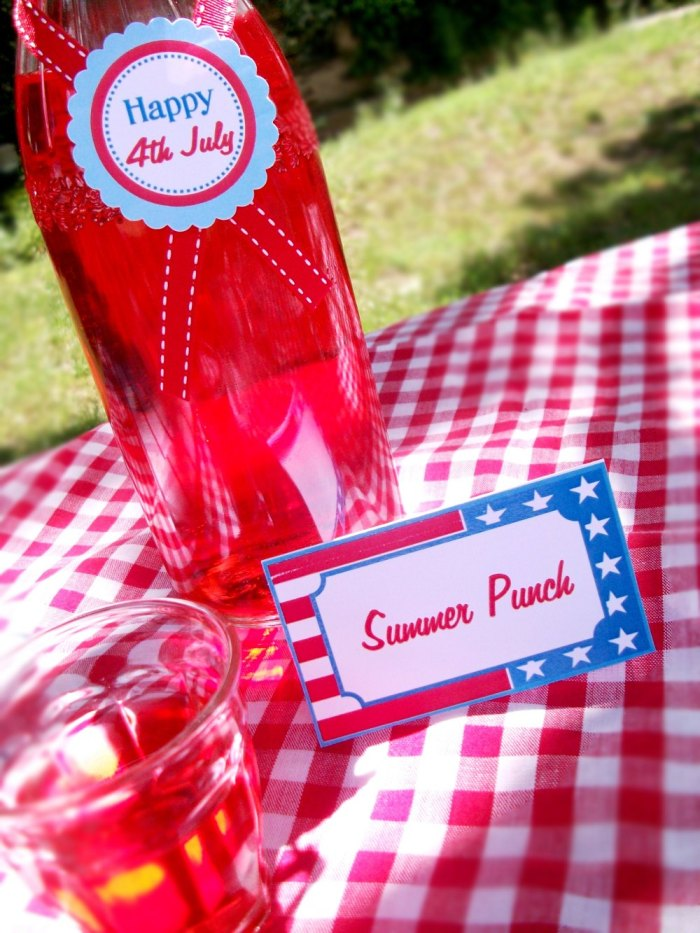 4th July Party | Relaxed Outdoors Entertaining - BirdsParty.com