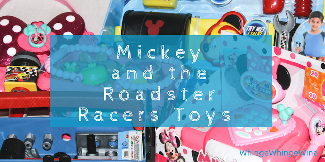 Mickey and the Roadster Racers and Minnie Happy Helpers toy review #MickeyandMinnieToys