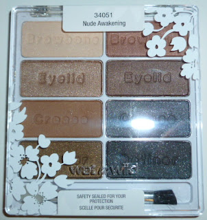 Wet n Wild 8 Pan Palette Spring Forward in Nude Awakening