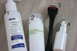 Dermaroller, manchas de pele, cuidar da pele, tratamento de pele, como tratar as manchas, aplicação de dermaroller