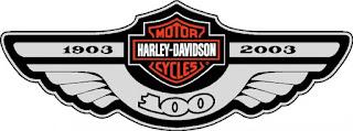 harley davidson logo centenary 2003