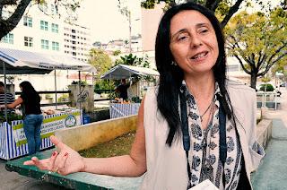 Monique Lopes, da Emater: balanço geral do circuito de feiras será apresentado em breve