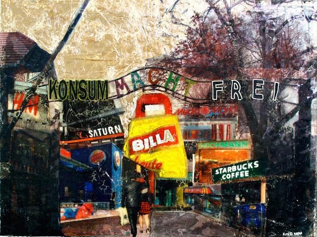 Kris Kind 2010, Konsum macht frei, 100 x 75cm