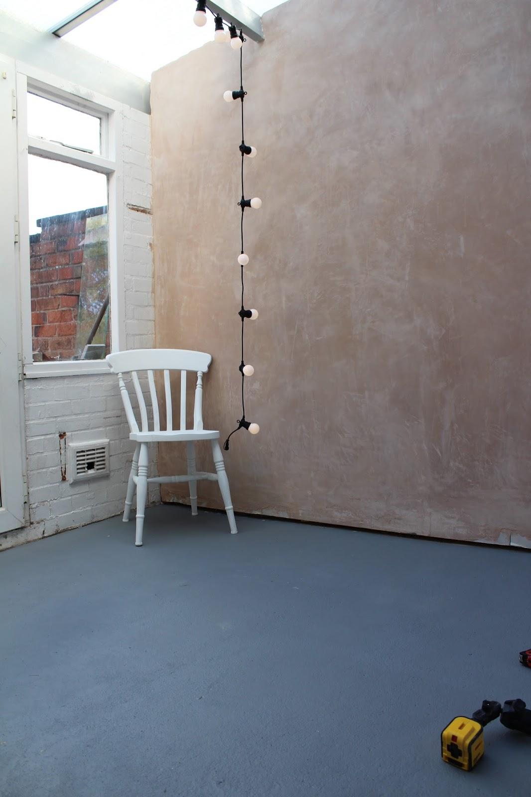 Rustoleum Chalky Finish Floor Paint Anthracite