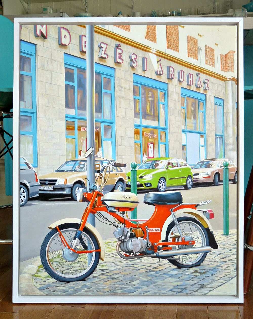Get a favorite photo turned into an oil painting