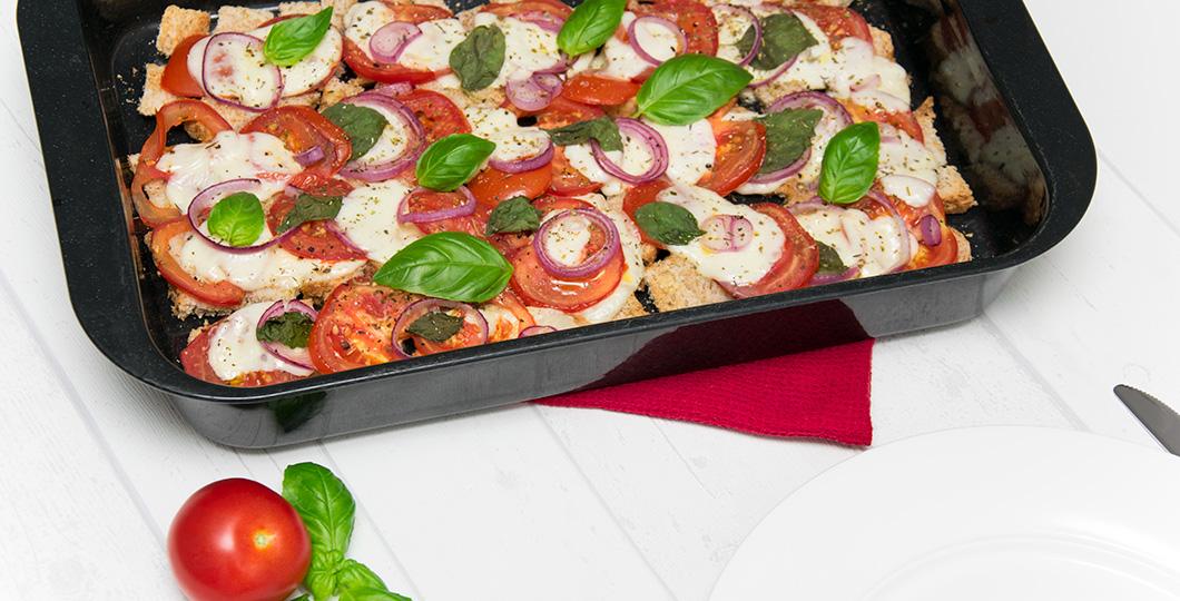 Tomate Mozzarella Auflauf Rezept