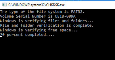 memperbaiki flashdisk yang meminta format 6