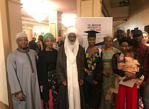 Emir Of Kano's Daughter Graduted From American University Of Paris, She's To Become A Journalist (Photos)
