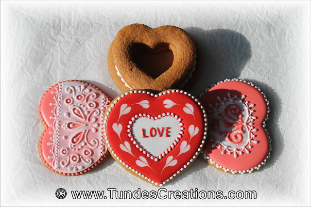 Heart cookie boxes by Tunde Dugantsi