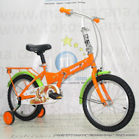 16 Inch Evergreen EG116 Toread Kids Folding Bike