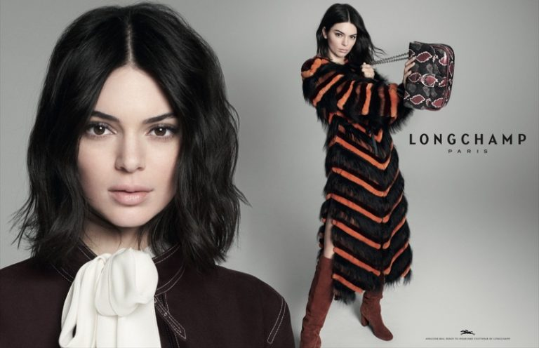 Kendall Jenner for Longchamp Fall Winter 2018