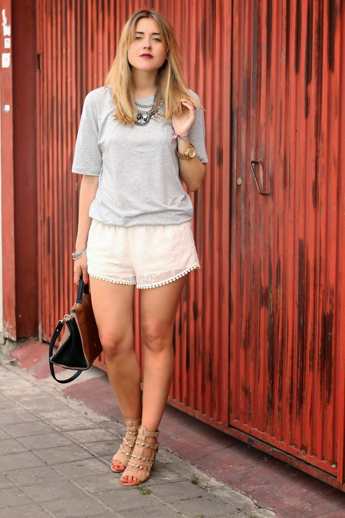 Casual shorts and top