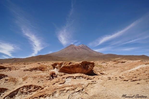 Reserva Nacional de Fauna Andina Eduardo Avaroa, vulcano semiattivo