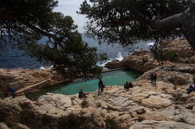 Racons de catalunya de platja fonda a aiguablava begur - Aiguablava piscina natural ...