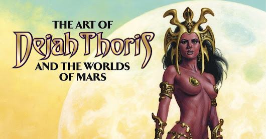 Art book: The art of Dejah Thoris and the worlds of Mars