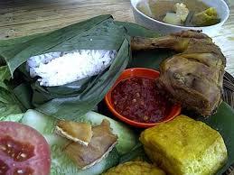 Kuliner Indonesia - Nasi Timbel Si Teteh
