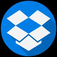 dropbox colorful icon