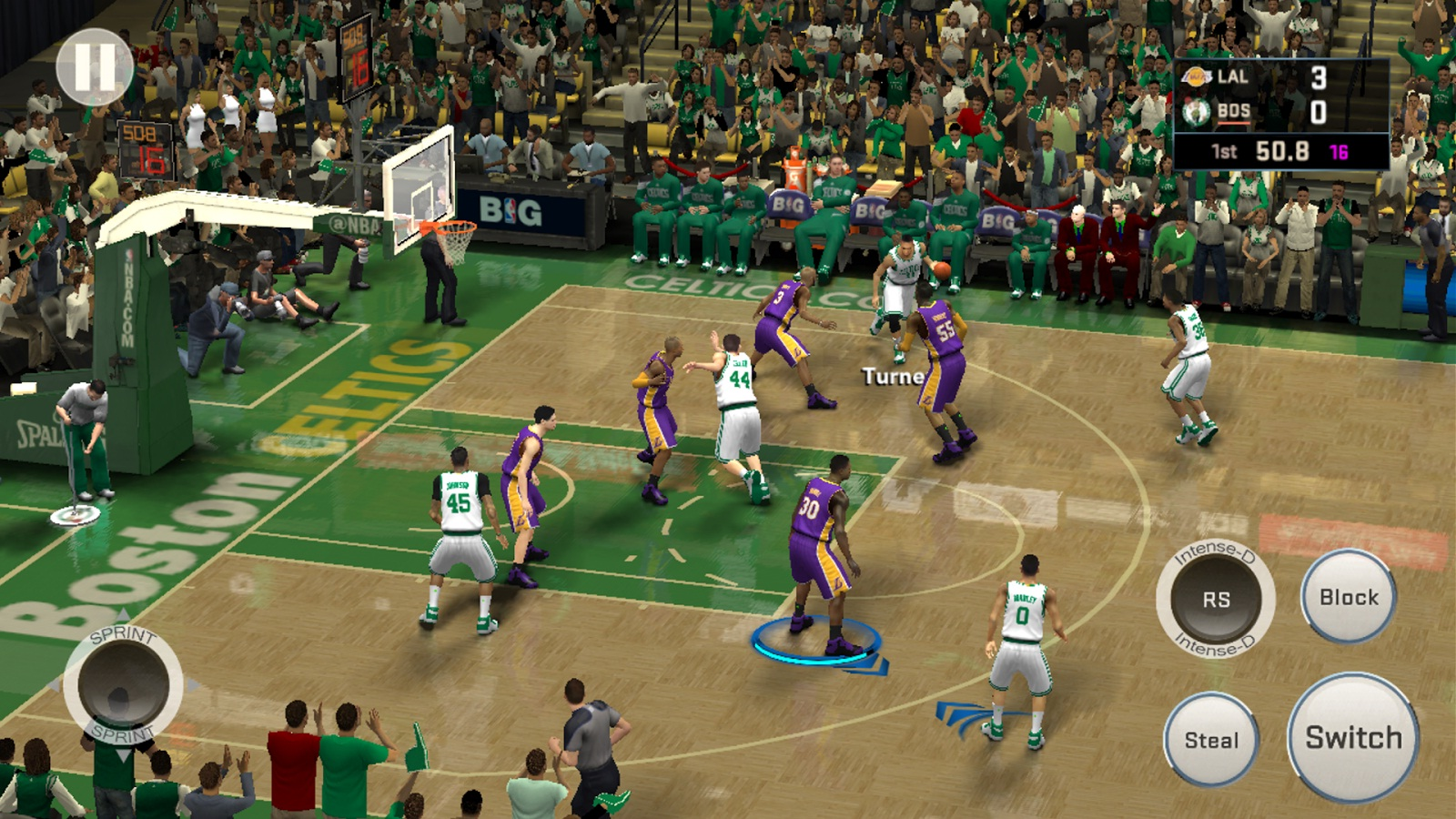 Free Android Cracked Games: NBA 2K16 APK Cracked Game