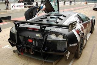 Gambar DP bbm Lamborghini Murcielago warna hitam