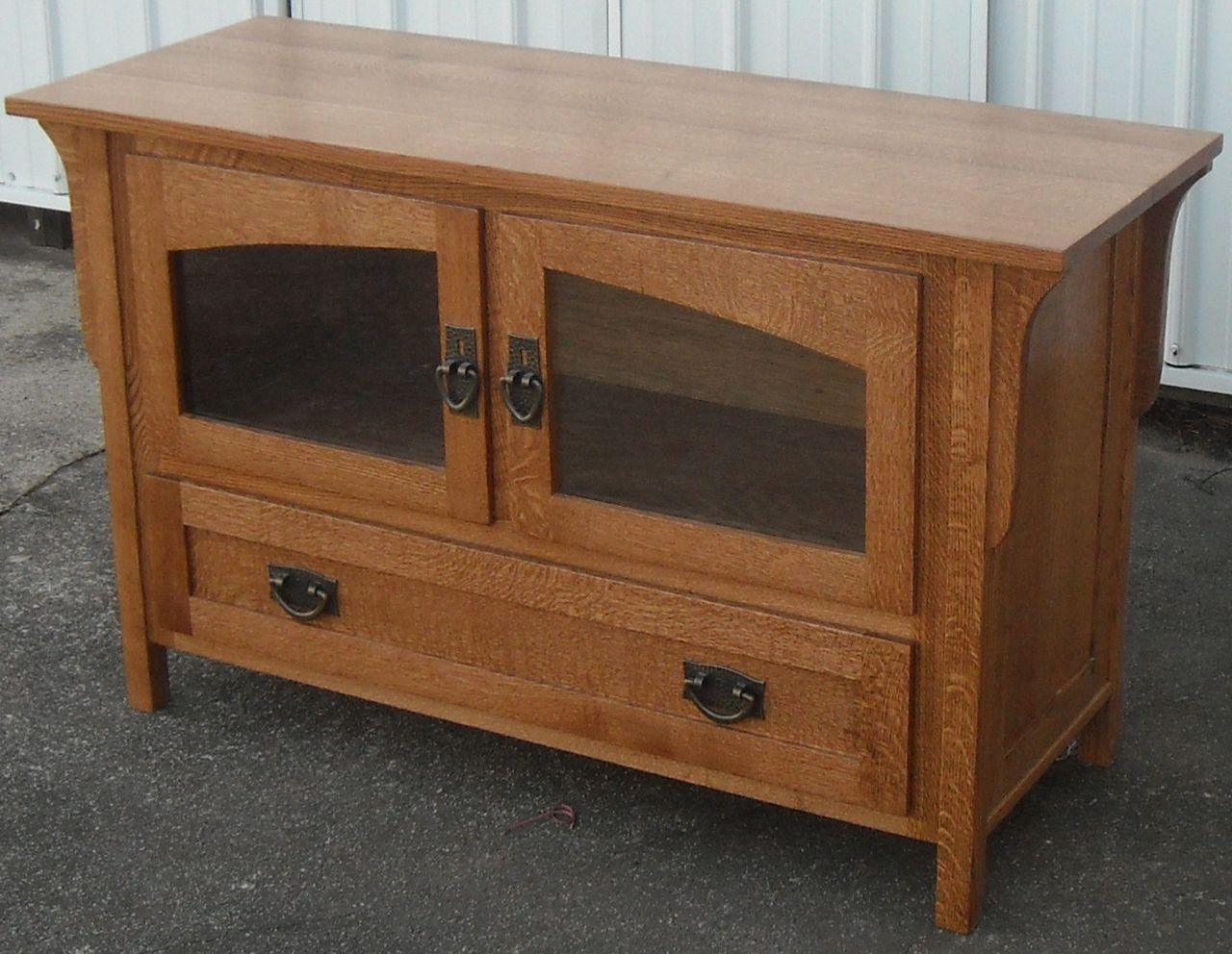 Shed Plans: Mission Style Tv Stand Plans Wooden Plans