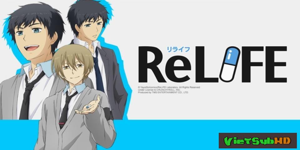 Phim Dự án ReLIFE Hoàn tất (13/13) VietSub HD | ReLIFE 2016
