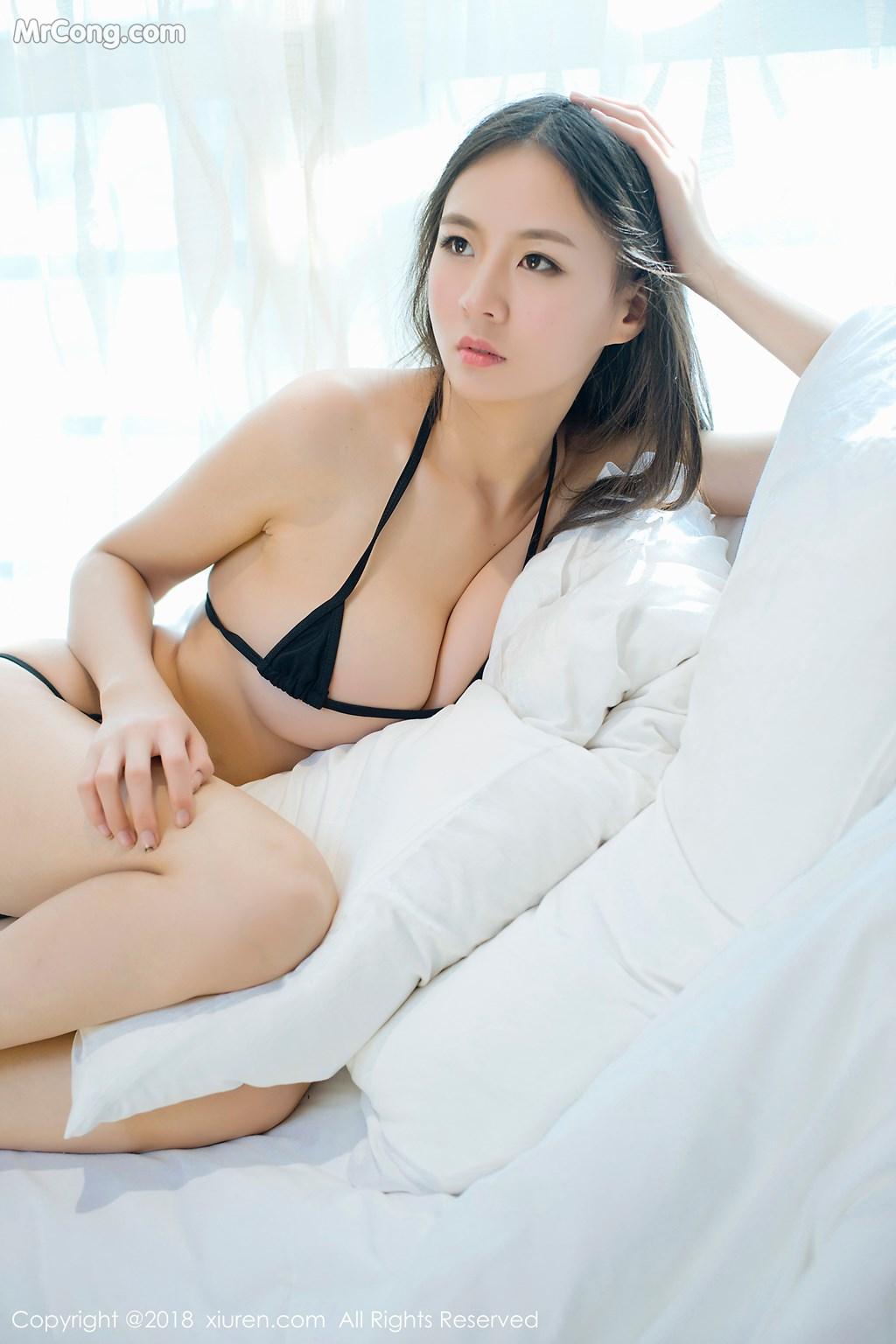 Image XIUREN-No.1003-Mote-Yue-Yue-MrCong.com-010 in post XIUREN No.1003: Người mẫu Mote Yue Yue (模特悦悦) (46 ảnh)