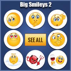 Big Smileys For Facebook