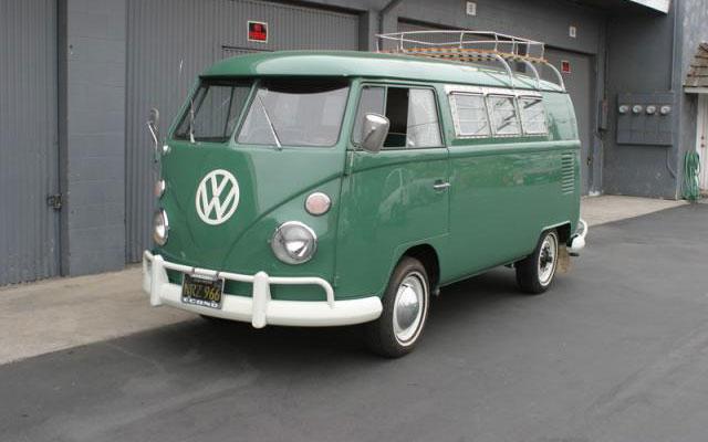 VW Sundial Camper Bus 66