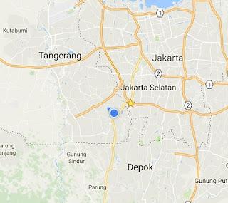 google map gojek driver