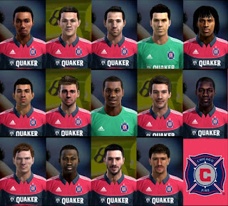 Chicago Fire Facepack Pes 2013 by Cirkac-95