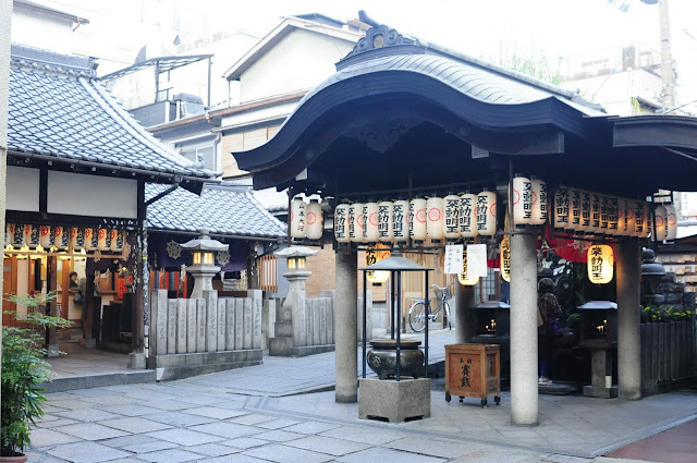 Temple at Dotonbori
